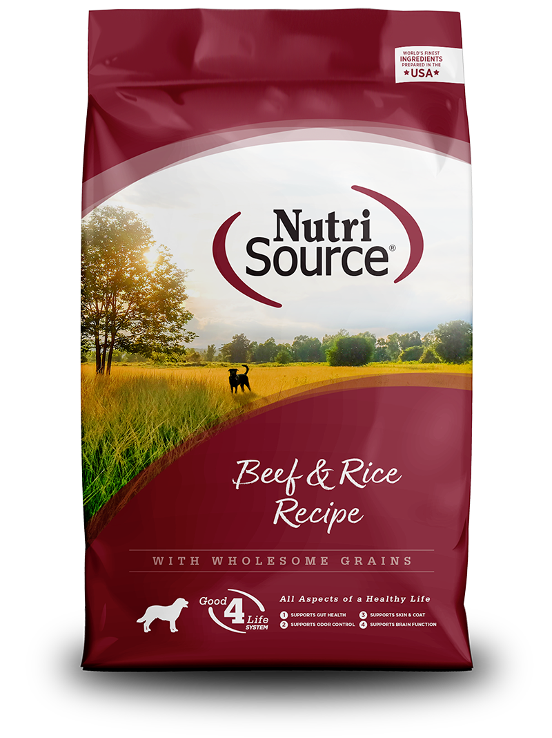 Nutrisource Beef & Brown Rice