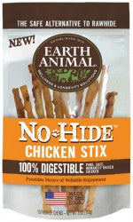 Earth Animal All Natural No-Hide Stix-10 pack