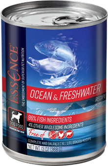 Essence® Ocean & Freshwater recipe for dogs-can