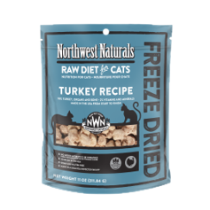 Northwest Naturals Freeze Dried Turkey for Cats