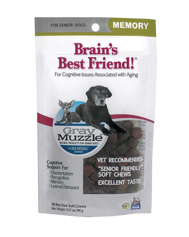 Gray Muzzle Brains Best Friend!