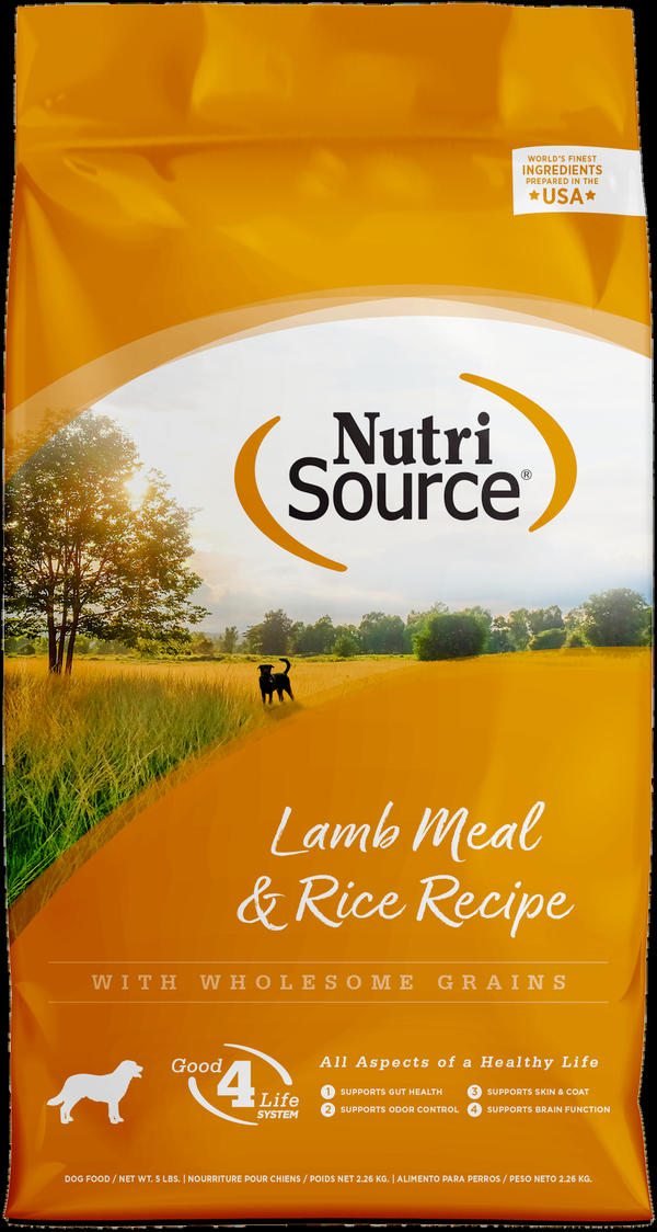 Nutrisource Lamb & Rice Formula