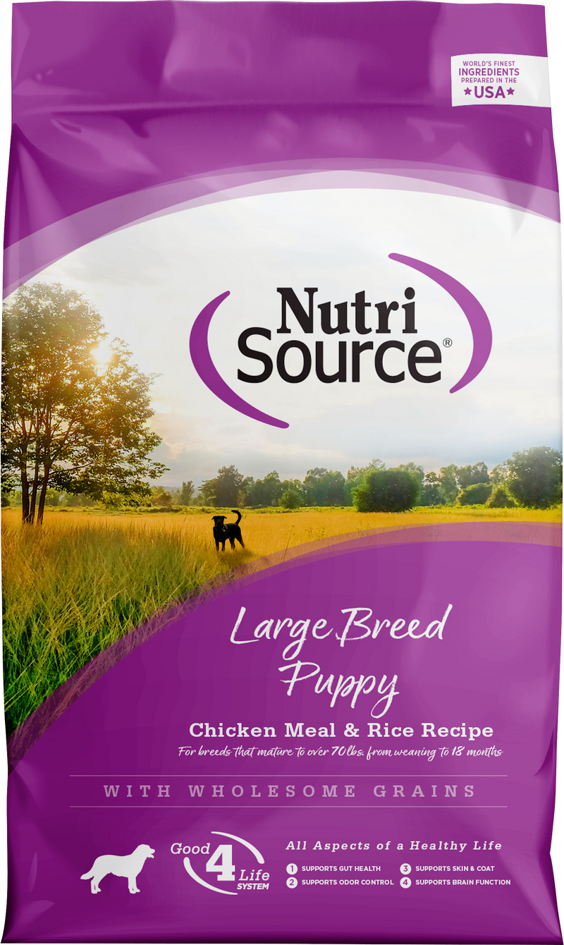 NutriSource Large Breed Puppy Chicken and Rice Formula