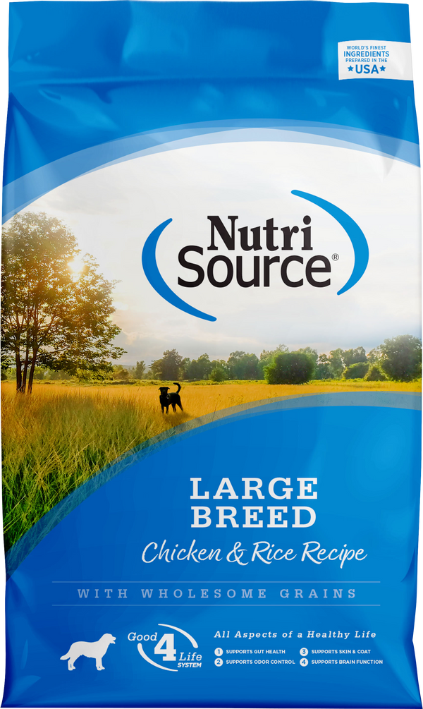 NutriSource Large Breed Adult Chicken & Rice Formula
