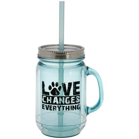 Vintage Mason Love Changes Everything Mug