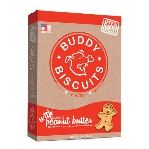 Buddy Biscuits Original Oven Baked Treats: Peanut Butter