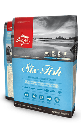 Orijen Six Fish Biologically Appropriate™ Cat Food