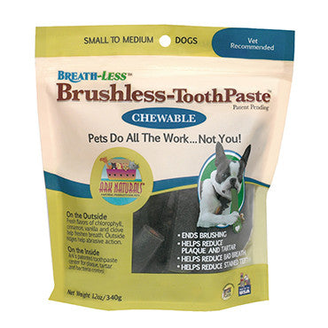 Ark Naturals Breath-Less Chewable Brushless-Toothpaste