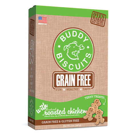 Buddy Biscuits Grain Free Oven Baked Teeny Treats: Roasted Chicken