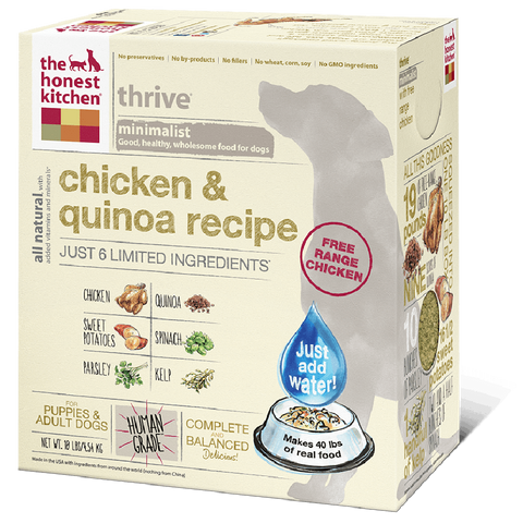 The Honest Kitchen  Chicken & Quinoa Dog Food