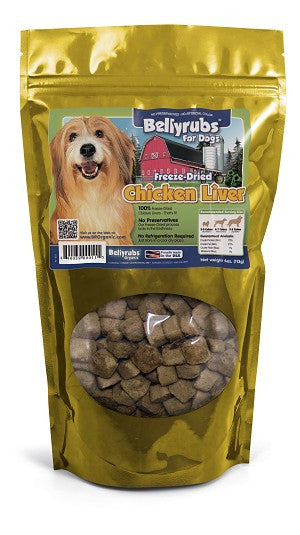 Belly rubs Freeze-Dried Chicken Liver