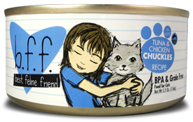 Best Feline Friends Tuna & Chicken Chuckles Recipe (in Aspic)
