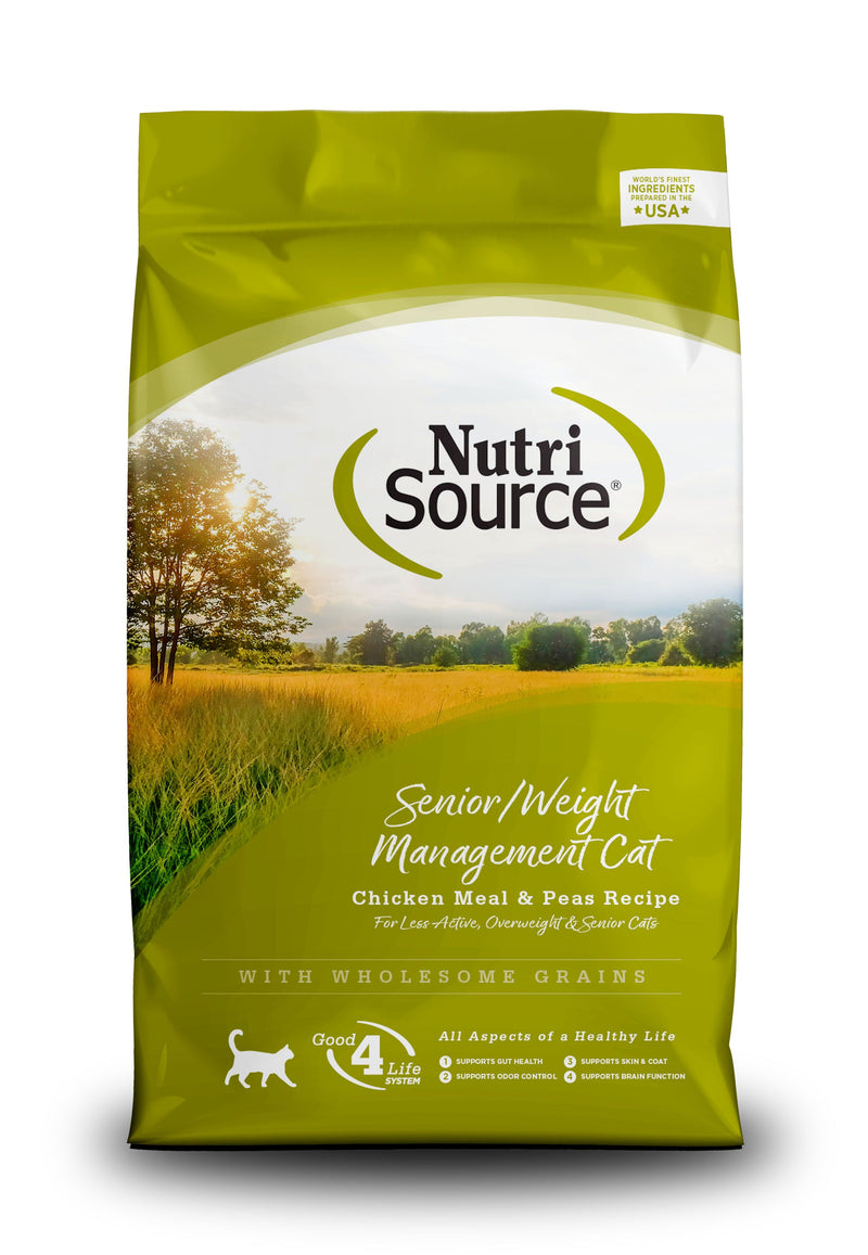 Nutrisource Senior/Weight Management Cat Recipe