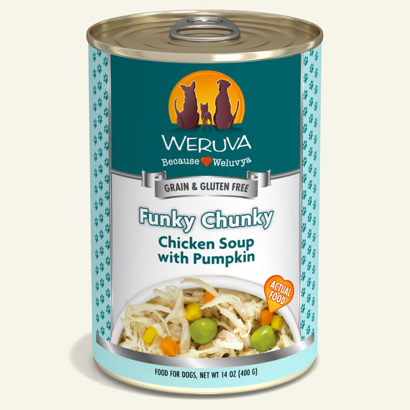 Weruva Funky Chunky Chicken Soup with Pumpkin