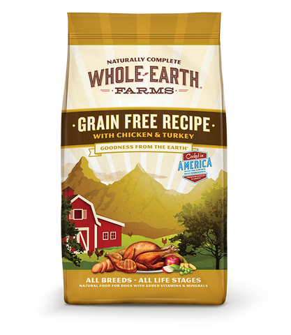 Whole Earth GRAIN FREE RECIPE WITH CHICKEN & TURKEY