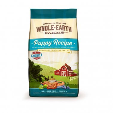 Whole Earth Healthy Puppy Recipe