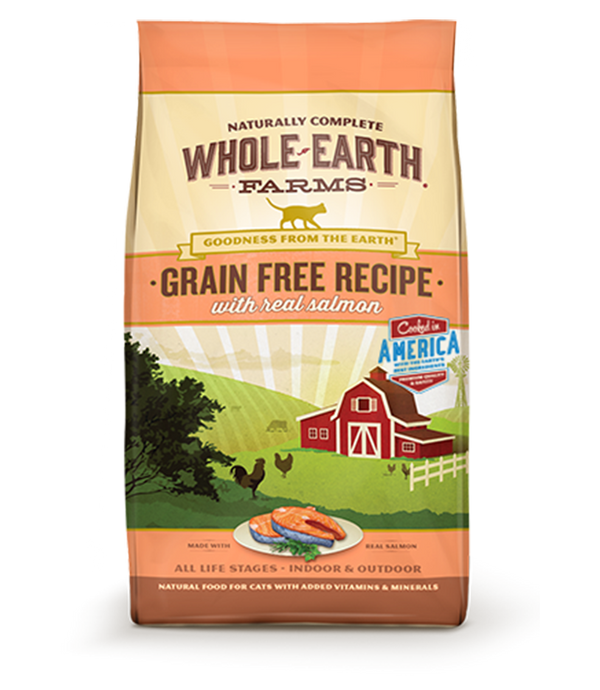Whole Earth Salmon Cat Food