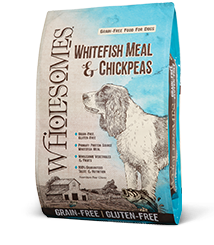 Wholesomes Whitefish & Chickpeas Grain Free