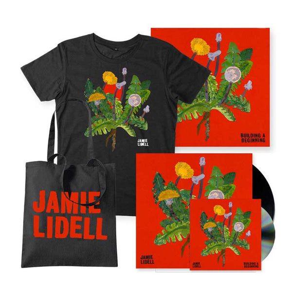 Signed Bundle (Vinyl, CD, Tshirt, Tote, Lithograph)