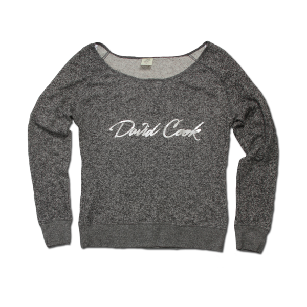 Foil Scoop Sweatshirt  (Girls)