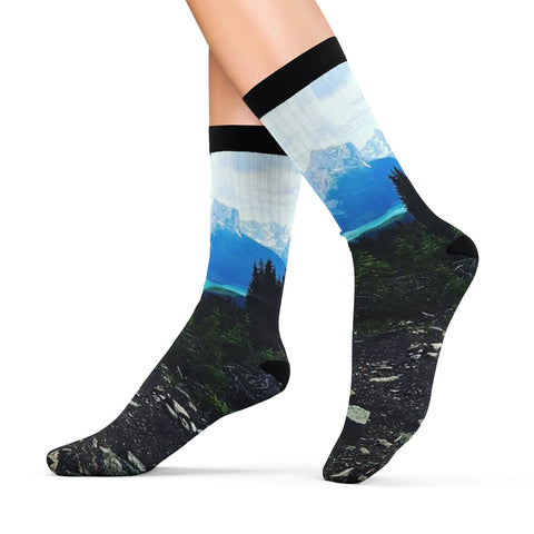 Maligne Lake Palisade Lookout Socks