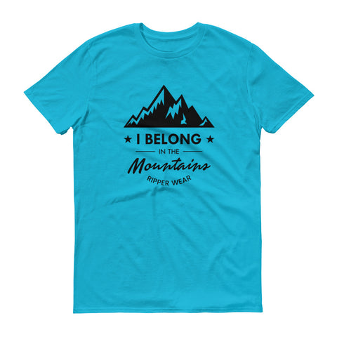 I Belong In The Mountains Mens Short sleeve t-shirt