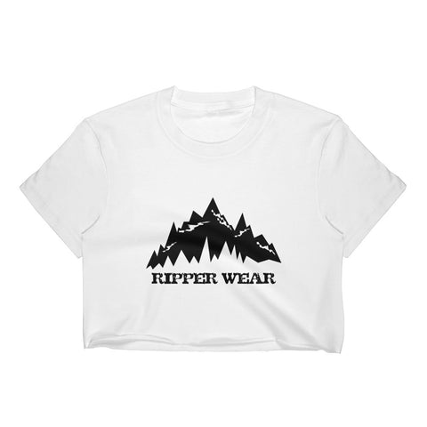 Ripper Wear Mountain Women's Crop Top