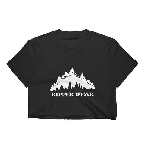 Ripper Wear Mountains Women's Crop Top