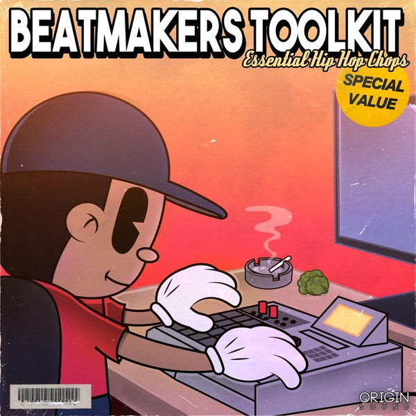 Beatmakers Toolkit - Essential Hip Hop Chops Sample Pack, Origin Sound, Origin Sound - Origin Sound samples royalty free fundamental ambience pack edm electronic ableton live fl studio logic pro piano drums keys bass chords midi melodies IDM organic downtempo tisoki presets elysian utopia free samples