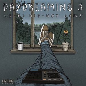 Day Dreaming 3 - Lo-Fi Hip Hop Jamz Sample Pack, Origin Sound, Origin Sound - Origin Sound samples royalty free fundamental ambience pack edm electronic ableton live fl studio logic pro piano drums keys bass chords midi melodies IDM organic downtempo tisoki presets elysian utopia free samples