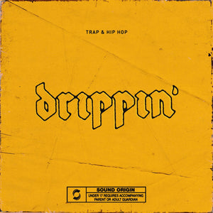 Drippin' - Trap & Hip Hop Sample Pack, Origin Sound, Origin Sound - Origin Sound samples royalty free fundamental ambience pack edm electronic ableton live fl studio logic pro piano drums keys bass chords midi melodies IDM organic downtempo tisoki presets elysian utopia free samples