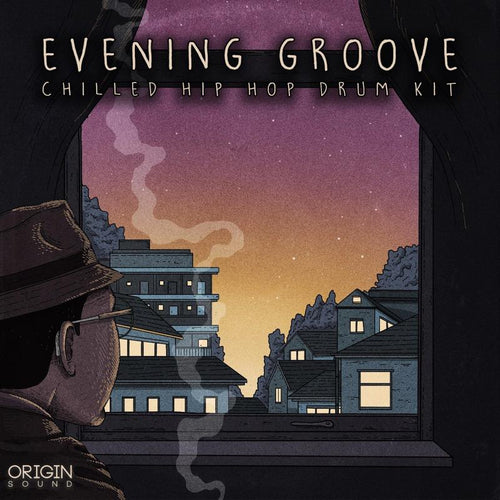 Evening Groove - Chilled Hip Hop Drum Kit Sample Pack, Origin Sound, Origin Sound - Origin Sound samples royalty free fundamental ambience pack edm electronic ableton live fl studio logic pro piano drums keys bass chords midi melodies IDM organic downtempo tisoki presets elysian utopia free samples