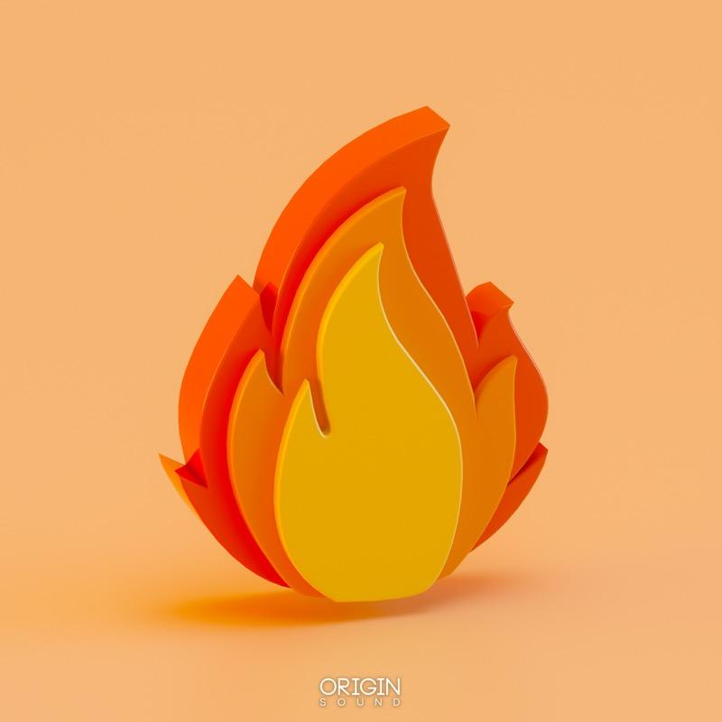 Fire Emoji - Trap & Hip Hop Sample Pack, Origin Sound, Origin Sound - Origin Sound samples royalty free fundamental ambience pack edm electronic ableton live fl studio logic pro piano drums keys bass chords midi melodies IDM organic downtempo tisoki presets elysian utopia free samples