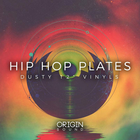 "Hip Hop Plates - Dusty 12"" Vinyls"