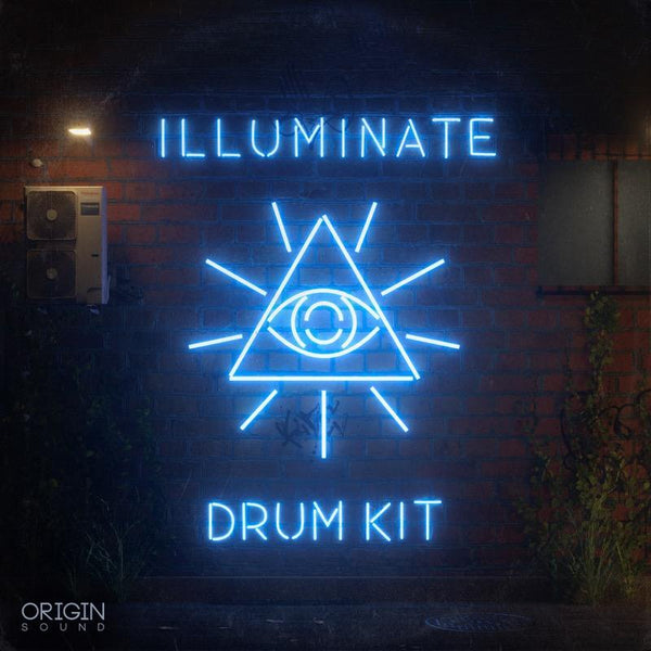 Illuminate Drum Kit Sample Pack, Origin Sound, Origin Sound - Origin Sound samples royalty free fundamental ambience pack edm electronic ableton live fl studio logic pro piano drums keys bass chords midi melodies IDM organic downtempo tisoki presets elysian utopia free samples
