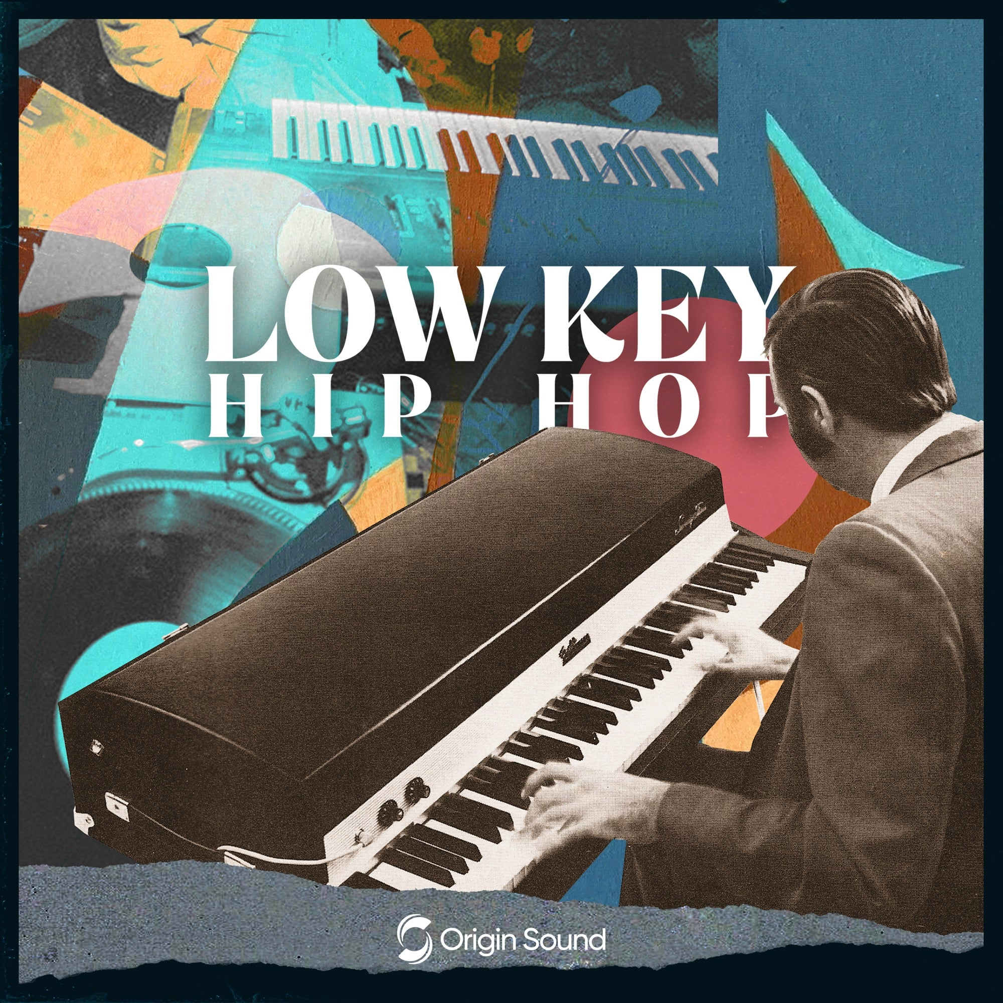 Low Key Hip Hop - Experimental Beats Sample Pack, Origin Sound, Origin Sound - Origin Sound samples royalty free fundamental ambience pack edm electronic ableton live fl studio logic pro piano drums keys bass chords midi melodies IDM organic downtempo tisoki presets elysian utopia free samples