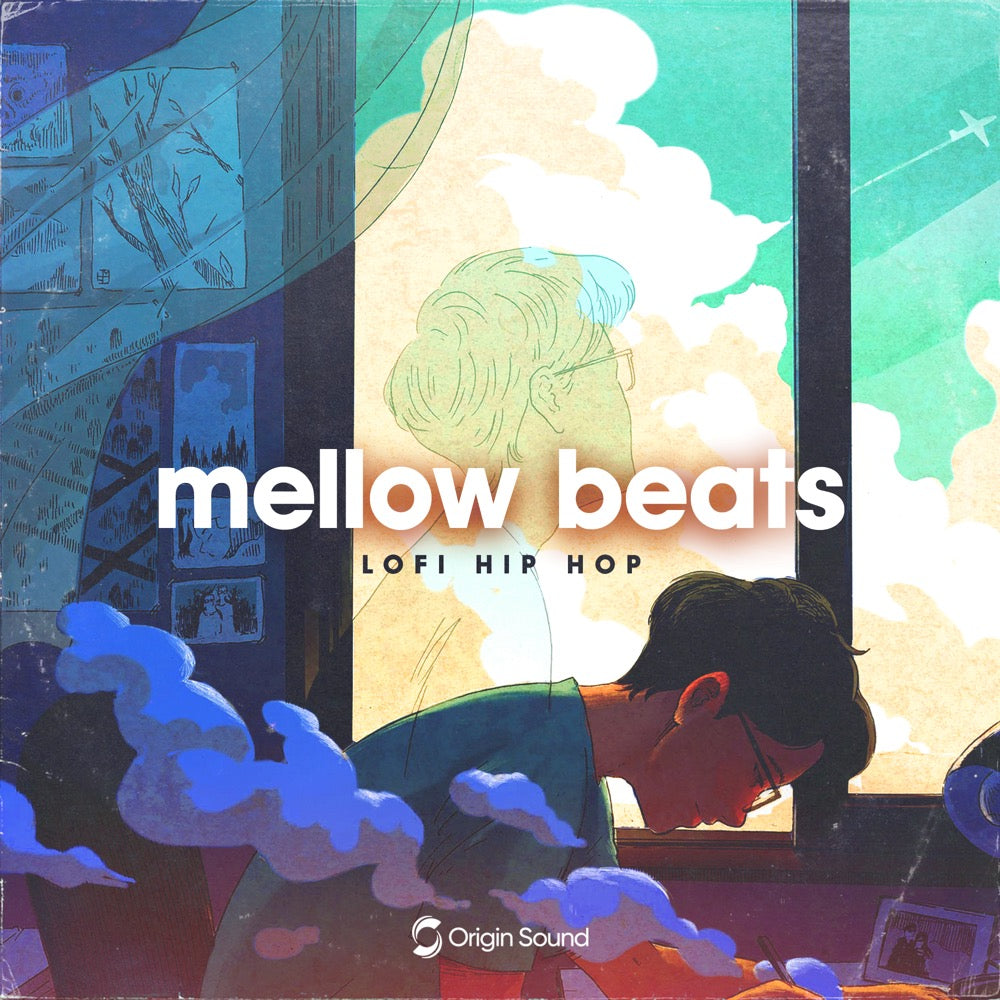 Mellow Beats - Lo-Fi Hip Hop Sample Pack, Origin Sound, Origin Sound - Origin Sound samples royalty free fundamental ambience pack edm electronic ableton live fl studio logic pro piano drums keys bass chords midi melodies IDM organic downtempo tisoki presets elysian utopia free samples