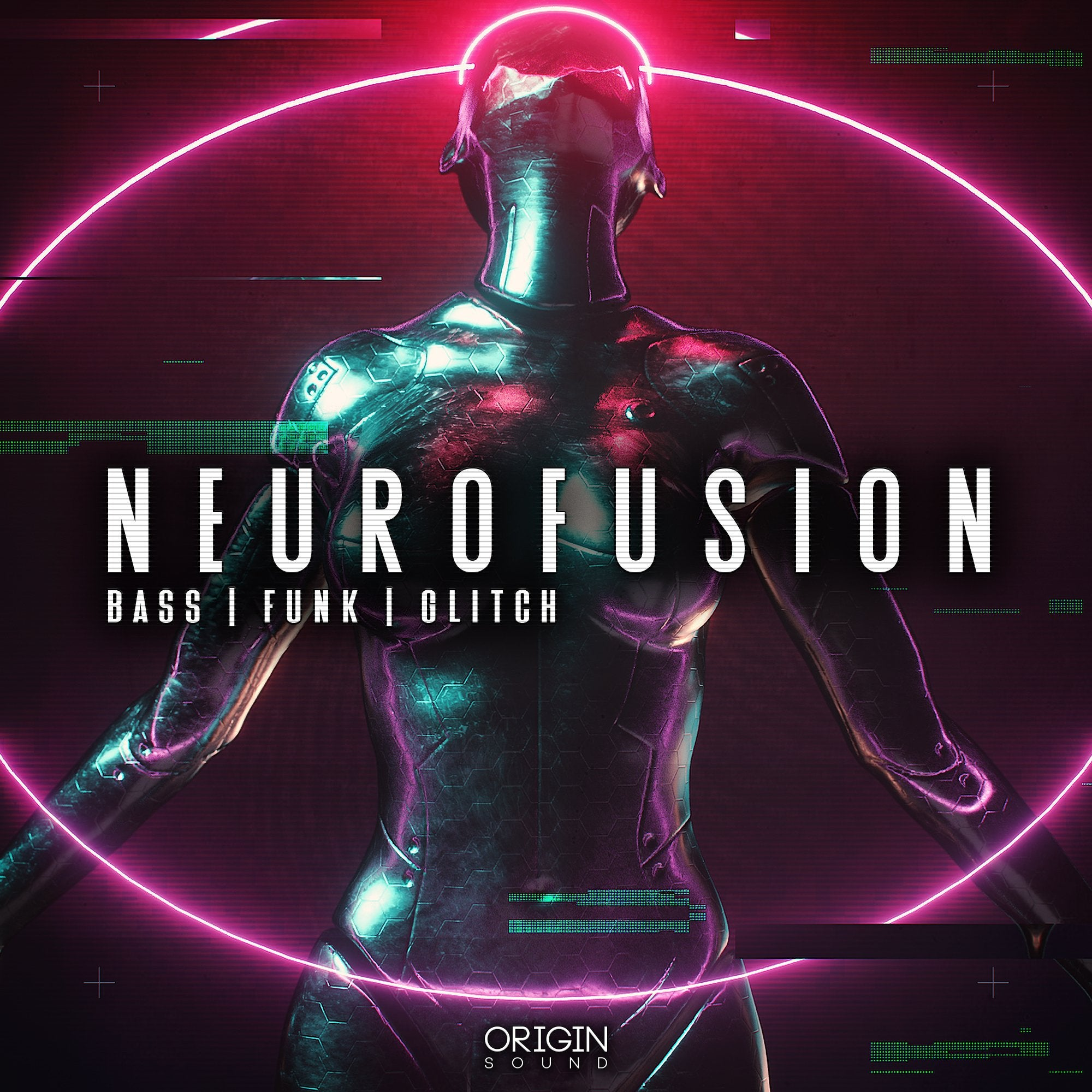 Neurofusion - Bass, Funk, Glitch Sample Pack, Origin Sound, Origin Sound - Origin Sound samples royalty free fundamental ambience pack edm electronic ableton live fl studio logic pro piano drums keys bass chords midi melodies IDM organic downtempo tisoki presets elysian utopia free samples