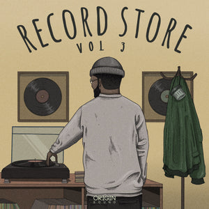 The Record Store - Vol 3 Sample Pack, Origin Sound, Origin Sound - Origin Sound samples royalty free fundamental ambience pack edm electronic ableton live fl studio logic pro piano drums keys bass chords midi melodies IDM organic downtempo tisoki presets elysian utopia free samples