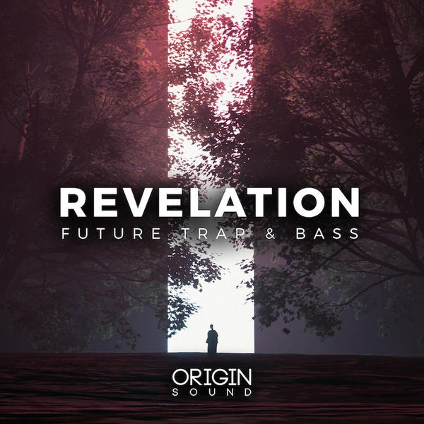 Revelation - Future Trap & Bass Sample Pack, Origin Sound, Origin Sound - Origin Sound samples royalty free fundamental ambience pack edm electronic ableton live fl studio logic pro piano drums keys bass chords midi melodies IDM organic downtempo tisoki presets elysian utopia free samples