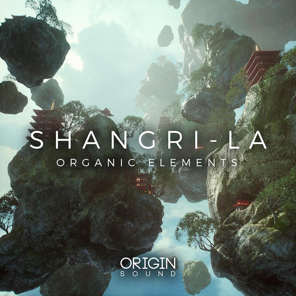 Shangri-La - Organic Elements Sample Pack, Origin Sound, Origin Sound - Origin Sound samples royalty free fundamental ambience pack edm electronic ableton live fl studio logic pro piano drums keys bass chords midi melodies IDM organic downtempo tisoki presets elysian utopia free samples