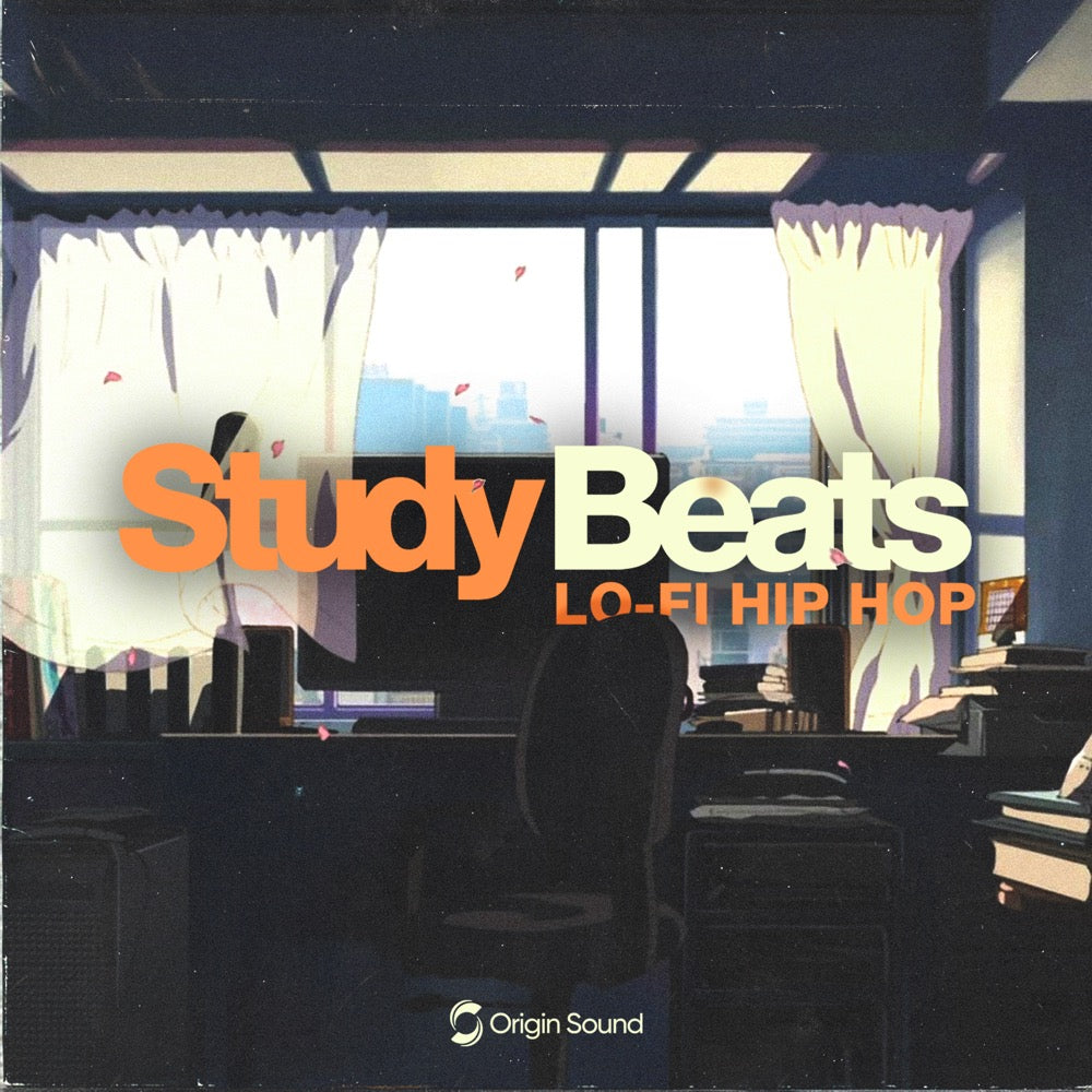 Study Beats - Lo-Fi Hip Hop Sample Pack, Origin Sound, Origin Sound - Origin Sound samples royalty free fundamental ambience pack edm electronic ableton live fl studio logic pro piano drums keys bass chords midi melodies IDM organic downtempo tisoki presets elysian utopia free samples