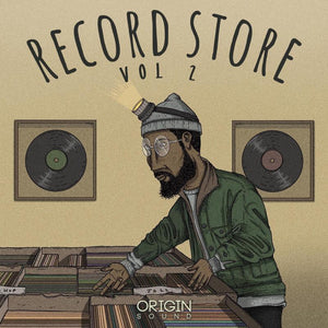 The Record Store - Vol 2 Sample Pack, Origin Sound, Origin Sound - Origin Sound samples royalty free fundamental ambience pack edm electronic ableton live fl studio logic pro piano drums keys bass chords midi melodies IDM organic downtempo tisoki presets elysian utopia free samples