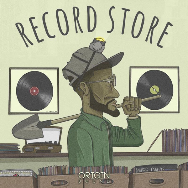 The Record Store - Vol 1 Sample Pack, Origin Sound, Origin Sound - Origin Sound samples royalty free fundamental ambience pack edm electronic ableton live fl studio logic pro piano drums keys bass chords midi melodies IDM organic downtempo tisoki presets elysian utopia free samples