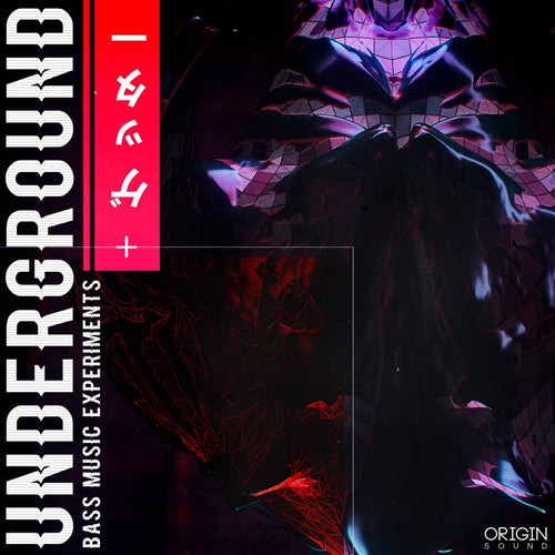 Underground - Bass Music Experiments Sample Pack, Origin Sound, Origin Sound - Origin Sound samples royalty free fundamental ambience pack edm electronic ableton live fl studio logic pro piano drums keys bass chords midi melodies IDM organic downtempo tisoki presets elysian utopia free samples
