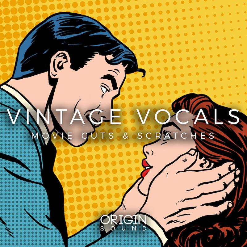 Vintage Vocals - Movie Cuts & Scratches Sample Pack, Origin Sound, Origin Sound - Origin Sound samples royalty free fundamental ambience pack edm electronic ableton live fl studio logic pro piano drums keys bass chords midi melodies IDM organic downtempo tisoki presets elysian utopia free samples