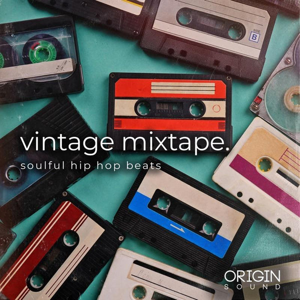Vintage Mixtape. - Soulful Hip Hop Beats Sample Pack, Origin Sound, Origin Sound - Origin Sound samples royalty free fundamental ambience pack edm electronic ableton live fl studio logic pro piano drums keys bass chords midi melodies IDM organic downtempo tisoki presets elysian utopia free samples