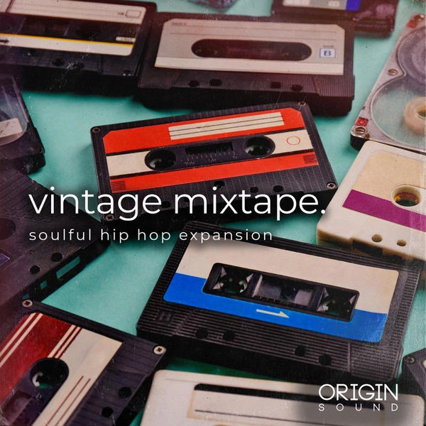Vintage Mixtape. - Soulful Hip Hop Expansion Sample Pack, Origin Sound, Origin Sound - Origin Sound samples royalty free fundamental ambience pack edm electronic ableton live fl studio logic pro piano drums keys bass chords midi melodies IDM organic downtempo tisoki presets elysian utopia free samples