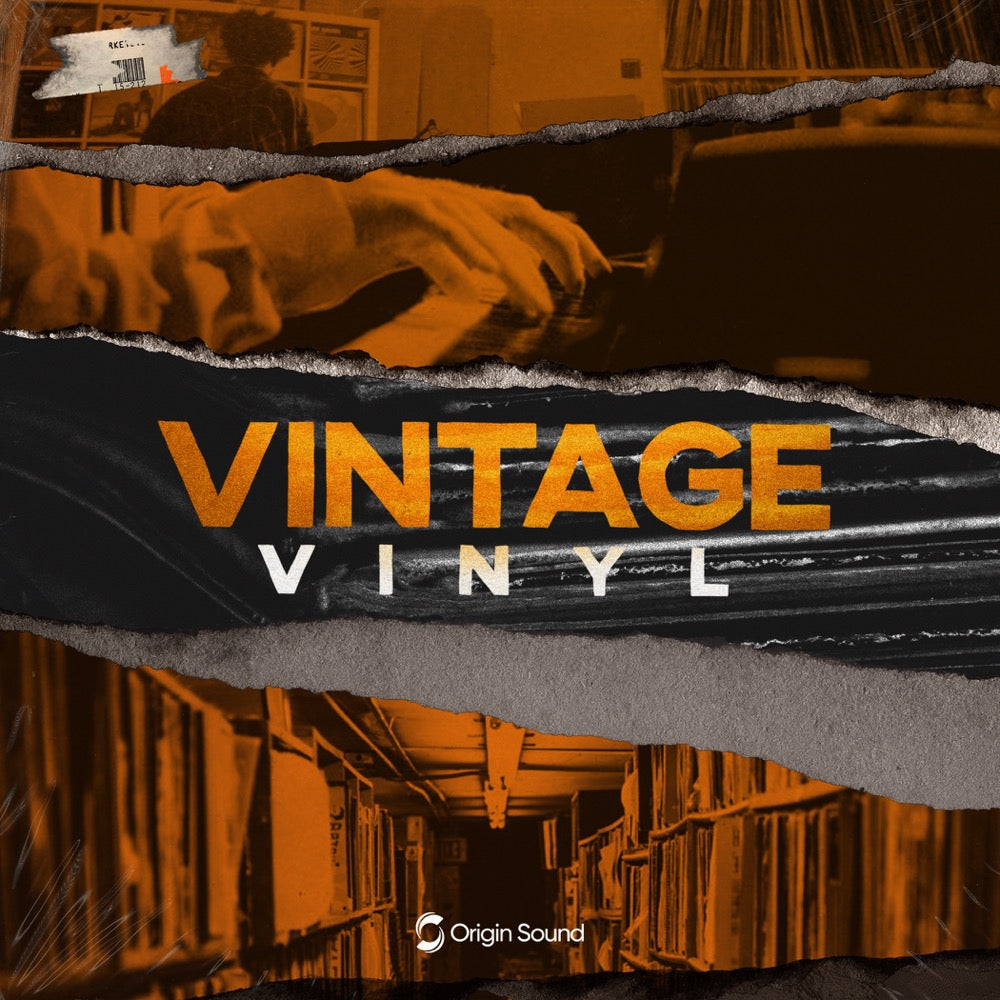 Vintage Vinyl - Old School Hip Hop Sample Pack, Origin Sound, Origin Sound - Origin Sound samples royalty free fundamental ambience pack edm electronic ableton live fl studio logic pro piano drums keys bass chords midi melodies IDM organic downtempo tisoki presets elysian utopia free samples