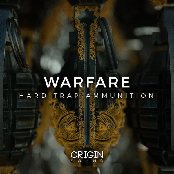 Warfare - Hard Trap Ammunition Sample Pack, Origin Sound, Origin Sound - Origin Sound samples royalty free fundamental ambience pack edm electronic ableton live fl studio logic pro piano drums keys bass chords midi melodies IDM organic downtempo tisoki presets elysian utopia free samples